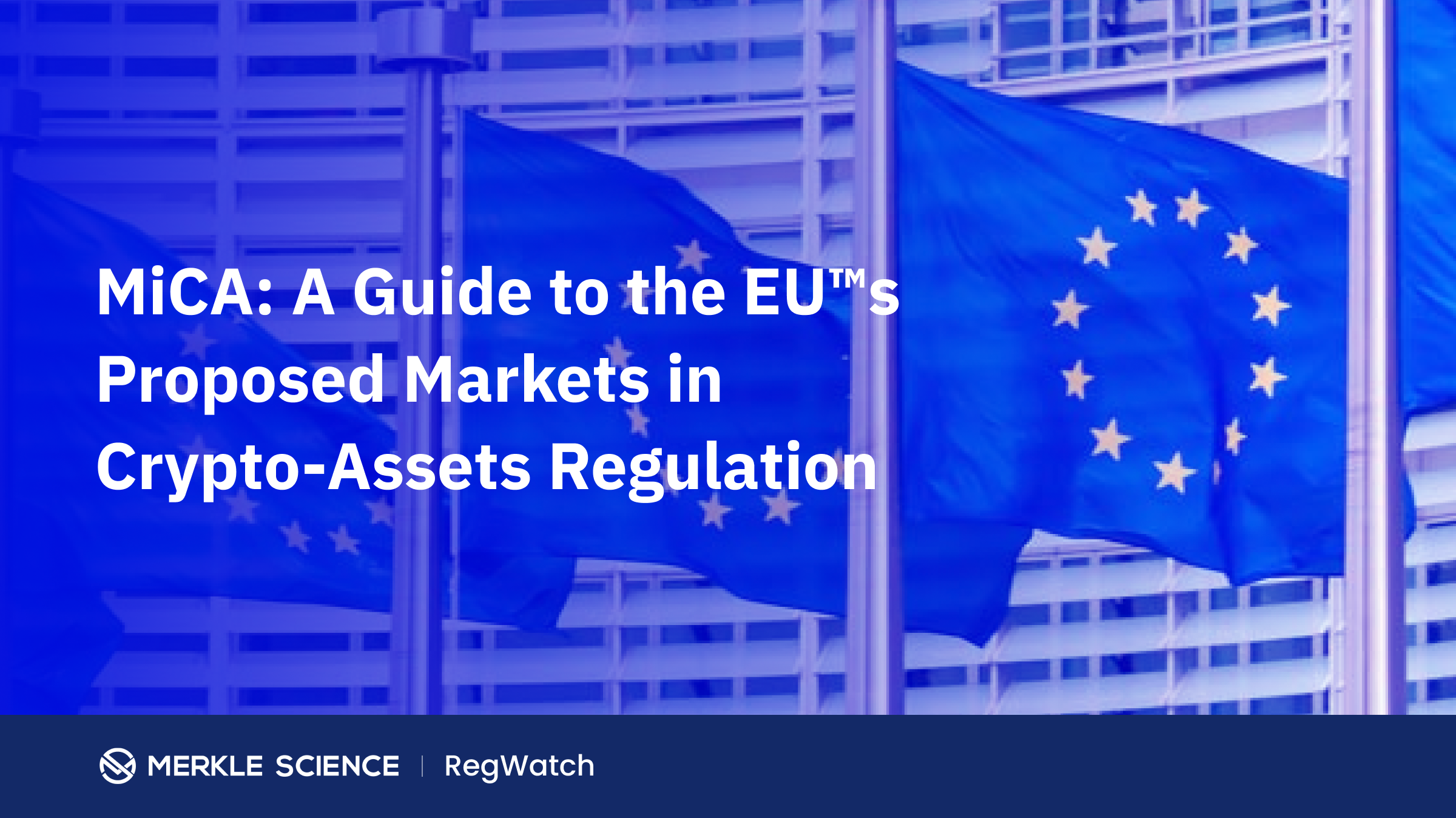 MiCA: A Guide to the EU's Proposed Markets in Crypto-Assets Regulation